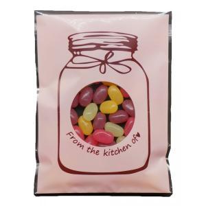 opp袋 カラフルボトル 窓付き ラッピング袋 ギフト袋 お菓子 小物 包装袋 100枚 Sサイズ