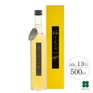 梅酒  甘くない 甘さ控えめ 梅リキュールaya 500ml|plumsyokuhin