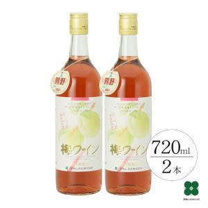 梅ワイン(ロゼ) 720ml×2本 果実酒 梅 plumsyokuhin