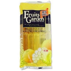 宅配便 果汁100% フルーツガーデン 10P×12袋 チューペット りんご パイン グレープ オレンジ ケース売り |plumterracenet
