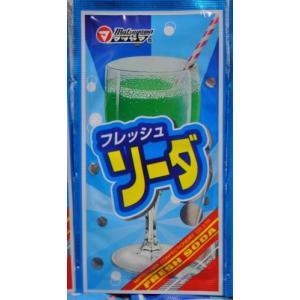 フレッシュ ソーダ 松山製菓 粉末 ジュース 20袋 ポスト投函便利用 送料無料|plumterracenet
