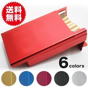 シガレットケース タバコケース 煙草ケース アルミケース 20P コレクション 喫煙具 シガレットケース|plus-a