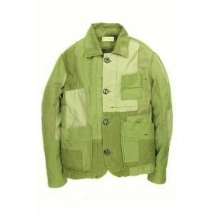 EATS Used Patchwork Jacket_ARMY パッチワークジャケット Lサイズ|plus-c