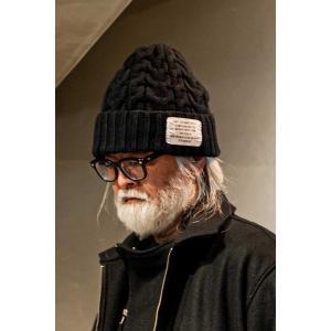 SEVESKIG(セヴシグ) COWICHAN KNIT CAP|plus-c