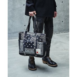 SEVESKIG(セヴシグ) BANDANA TOTE BAG|plus-c