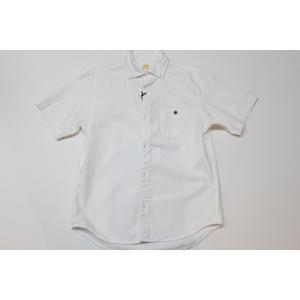 バーンズ barns outfitters オックスフォード 半袖ボタンダウンシャツ|plus-c