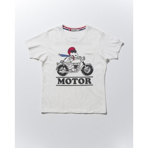SEVESKIG(セヴシグ)SNOOPY T-SHIRT(MOTOR)|plus-c