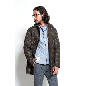 SEVESKIG(セヴシグ) NEEDLE-PUNCH COAT|plus-c