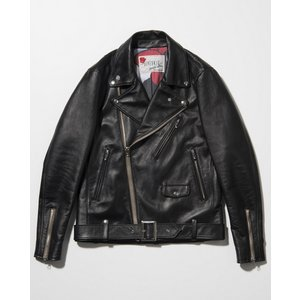 SEVESKIG(セヴシグ) COW HIDE W-RIDERS JACKET|plus-c