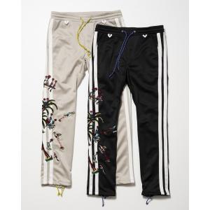 【予約商品】SEVESKIG(セヴシグ) JOGGY EMBROIDERY PANTS plus-c