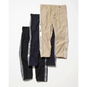 【予約商品】SEVESKIG(セヴシグ) PRISM LINE SILK PANTS plus-c