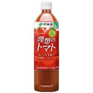 伊藤園 理想のトマト PET 900g 1ケース(12本入)|plus1spot