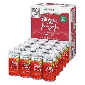 伊藤園 理想のトマト 長期保存可能品 缶 190g 1ケース(20缶入)|plus1spot