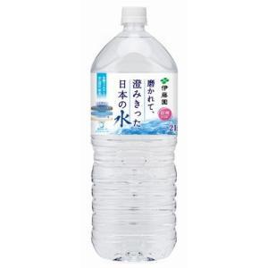 伊藤園 磨かれて、澄みきった日本の水 信州 PET 2L 1ケース(6本入)|plus1spot