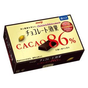 明治 チョコレート効果 カカオ86% 14枚入 70g