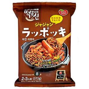東遠ジャパン ドンウォン 本格韓国屋台の味 ジャジャン ラッポッキ 2〜3人前 372g (ブラウンパック)|plus1spot