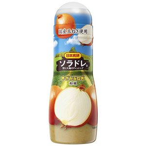 日本食研 ソラドレ 空と大地のドレッシング きざみ玉ねぎ 和風 300ml|plus1spot