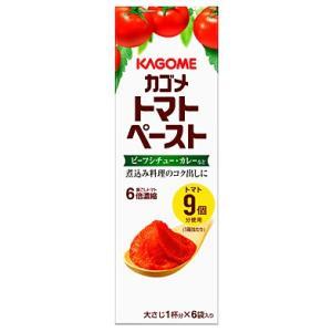 カゴメ トマトペースト ミニパック 108g (18g×6袋)