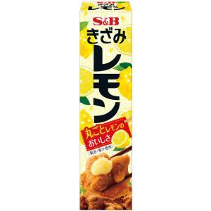 S&B エスビー きざみレモン チューブ 38g|plus1spot