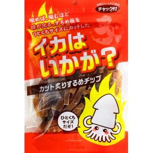 谷貝食品 イカはいかが? カット炙りするめチップ 145g|plus1spot
