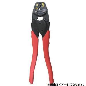 (おすすめ)エビ 圧着工具銅線用裸圧着端子・裸圧着スリーブ(P.B)用AK15A|plus1tools