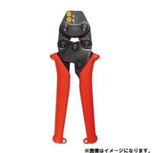 エビ ミニ圧着工具 銅線用裸圧着端子・裸圧着スリーブ(P.B)用 AK1MA|plus1tools