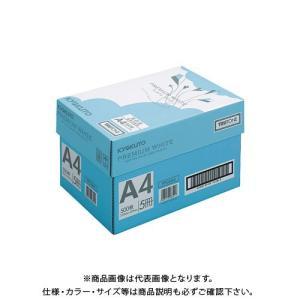 キョクトウ・アソシエイツ プレミアムホワイトA4 【青箱5冊】 PPCKA405|plus1tools
