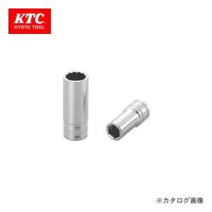 KTC 9.5sq. セミディープソケット 23mm(六角) B3M-23|plus1tools