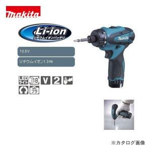 マキタ Makita 10.8V 1.3Ah 充電式ドライバドリル フルセット DF030DWX|plus1tools