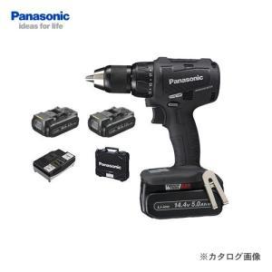 パナソニック Panasonic 14.4V 5.0Ah 充電振動ドリル&ドライバー 黒 EZ79A2LJ2F-B plus1tools
