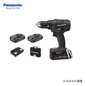 パナソニック Panasonic 18V 3.0Ah 充電振動ドリル&ドライバー 黒 EZ79A2PN2G-B|plus1tools