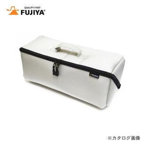 フジ矢 FUJIYA ヒッポケース(布製工具ケース)2Lサイズ・アイスグレー FTC2-2LIG|plus1tools