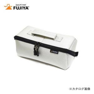 フジ矢 FUJIYA ヒッポケース(布製工具ケース)Mサイズ・アイスグレー FTC2-MIG|plus1tools