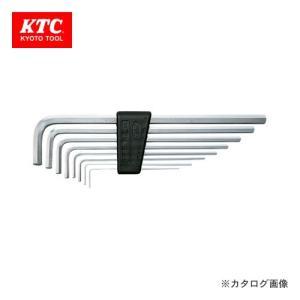 KTC ハイグレードL形ロング 六角棒レンチセット(8本組) HLD1508|plus1tools