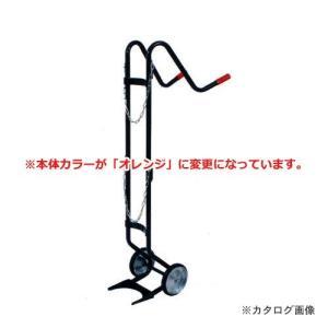 【直送品】ハマコ HAMACO 酸素ボンベ台車1本積用 BC-01|plus1tools