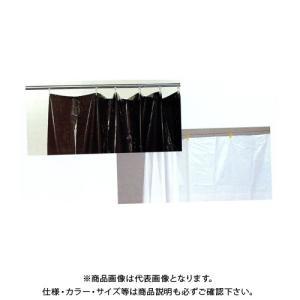 広島 HIROSHIMA 養生日除カーテン 乳白 巾1m×高さ1.95m(5枚入) 467-27|plus1tools