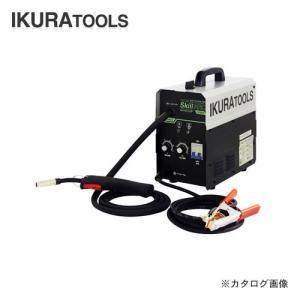 育良精機 インバータ制御直流ノンガス半自動溶接機 スキルアーク 単相200V 20A 40058 ISK-SA120P plus1tools
