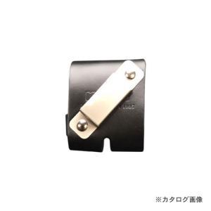 ニックス KNICKS ヌメ革メジャー金具付ベルト 左利き用 ブラック KB-DXM|plus1tools