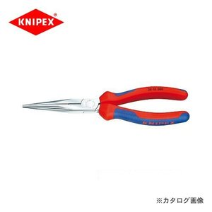 クニペックス KNIPEX 26ロングラジオペンチ 200mm 2615-200|plus1tools