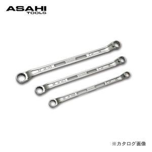 旭金属工業 アサヒ ASAHI LOF45°×7°めがねレンチ LOF1214|plus1tools