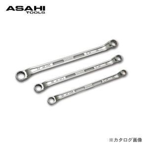 旭金属工業 アサヒ ASAHI LOF45°×7°めがねレンチ LOF1719|plus1tools