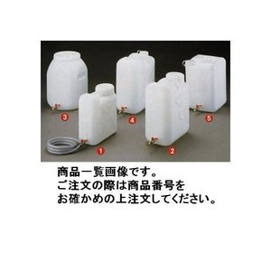 瑞穂化成工業 mizuho 扁平缶ボールコック付20L正角広口 0762|plus1tools