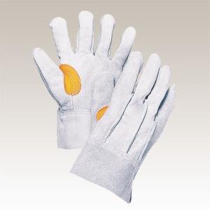 大中産業 [10双入] 牛革手袋 背縫いフェルト入 103HGY-HA|plus1tools