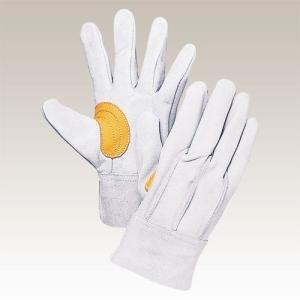 大中産業 [10双入] 牛革手袋 背縫い革手 コンピアテ付 Mサイズ 103Y|plus1tools