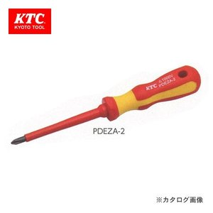 KTC 絶縁ドライバ クロス 非貫通タイプ PDEZA-2|plus1tools