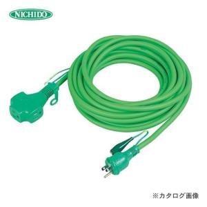 (おすすめ)日動工業 トリプルポッキン アース付 極太ソフト電線延長コード20m 緑色 PPT-20E-G (スプリングセール)|plus1tools