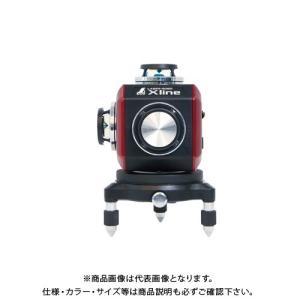 シンワ測定 レーザーロボ X line レッド フルライン・地墨クロス 71607|plus1tools