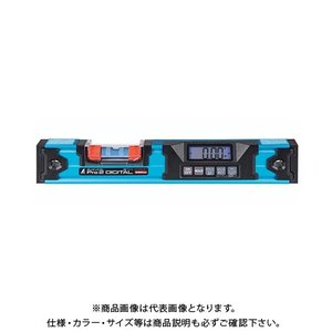 シンワ測定 ブルーレベル Pro 2 デジタル350mm 防塵防水 マグネット付 75316|plus1tools