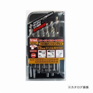 三共 TRAD 鉄工ドリルセット TSD-13M|plus1tools