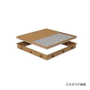 城東テクノ Joto 高気密型床下点検口 (標準型450×600mm) フローリング12mm対応 アイボリー (1セット) SPF-R4560F12-IV|plus1tools